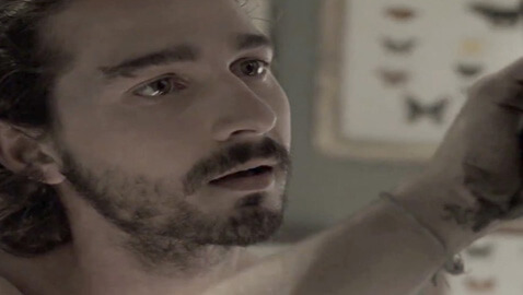 "Shia Labeouf Appears Nude for Sigur Ros song ""Fjogur Piano."""