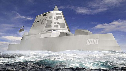 Chinese Official Scoffs at the Super-Stealth Ship of U.S. Navy