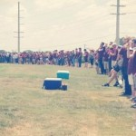 Texas A&M Students Create Human Wall at an Alum's Funeral