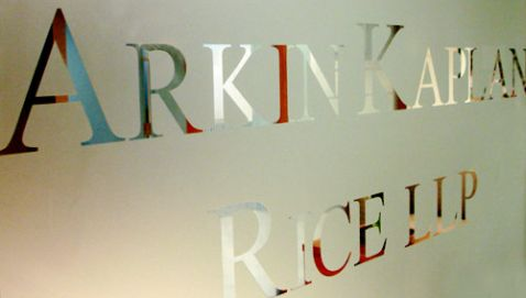 Former Partners at Arkin Kaplan Rice Suing Over Office Rent