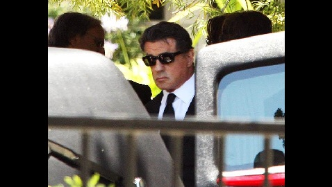 stallone funeral