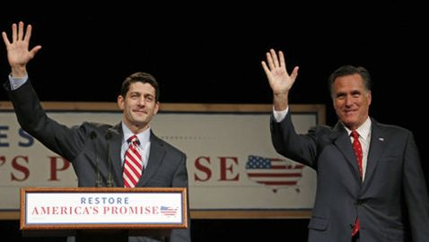 "Mitt Romney and Paul Ryan Appear on ""60 Minutes"""