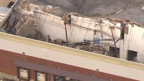 Roof Collapse at Document Warehouse Affecting Howrey Closure