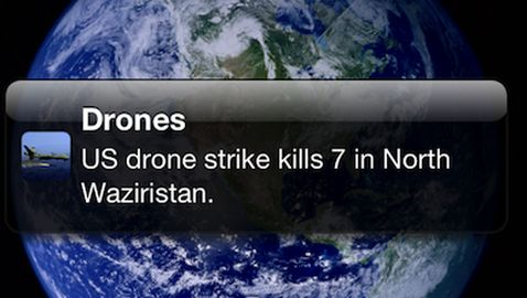 Apple Rejects App for Drone Strike Coverage