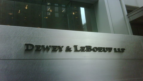 Estate of Dewey Wants to Defeat Claims by Former Partners