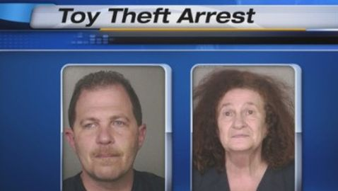 Mother and Son Tandem Arrested for $2 Million in Toy Thefts