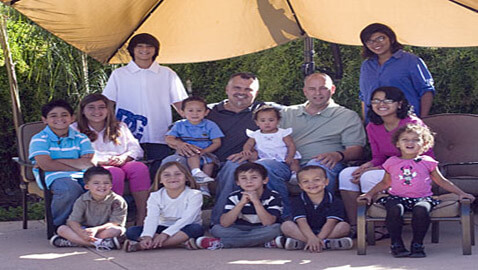 Arizona Gay Couple Gets Formal Recognition for 12 Adopted Kids