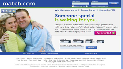 Online Daters Find it Hard to Sue Match.com