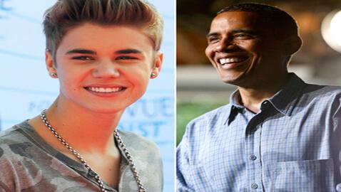 Obama OutKlouts Bieber