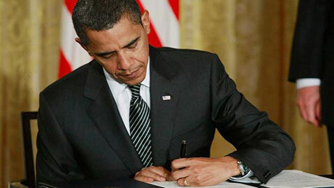 Obama Signs Law to Appoint U.S. Treasurer without Requiring Senate Approval