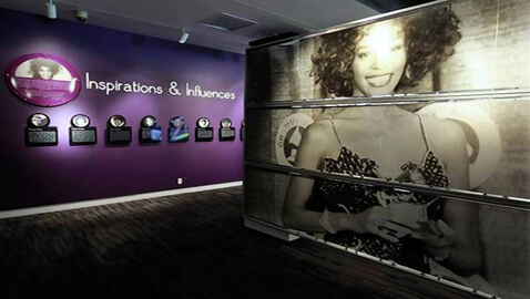 Tribute to Whitney Unveiled at the Grammy Museum