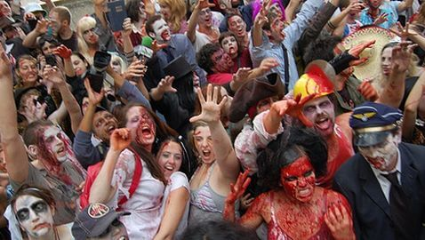 "Government Warns: ""The Zombies are Coming"""