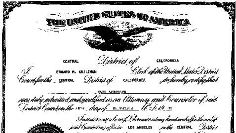 Jeffery Baker to be Sworn Into California Bar 34 Years after Graduating Law School