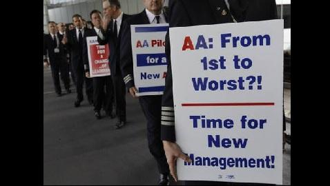 American Airlines Threatens Legal Action Against its Pilot's Union