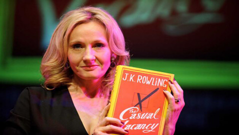 J.K. Rowling Debuts Adult Novel Five Years after Harry Potter