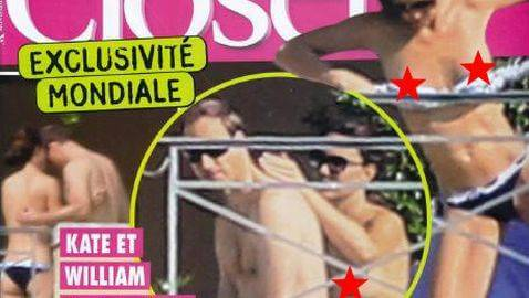 Nude Pictures of Kate Middleton Published in 'Closer' Magazine