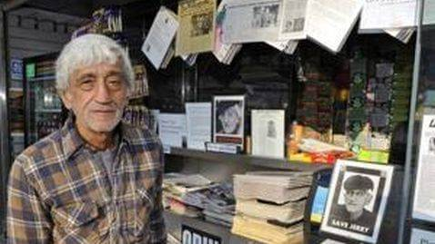 Popular Newsstand Operator being Evicted by NYC