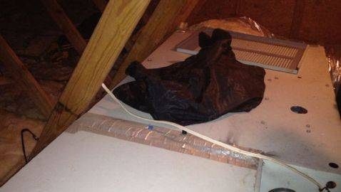 Ex-Boyfriend Discovered in Attic by Woman