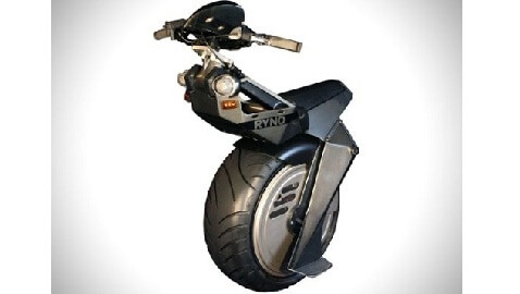 Motorized Unicycle Takes Off