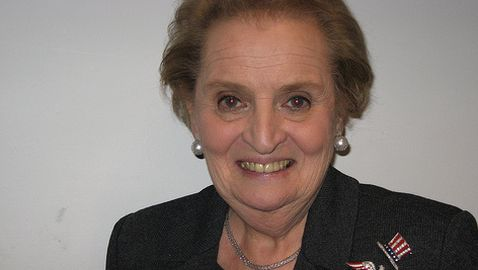 Former Secretary of State Madeleine Albright Discusses Romney