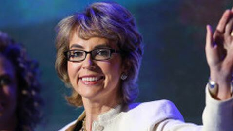 Gabrielle Giffords Recites Pledge of Allegiance at DNC