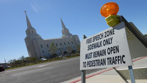 "Are Brigham City's ""Free Speech Zones"" a Strategy to Stifle Free Speech?"