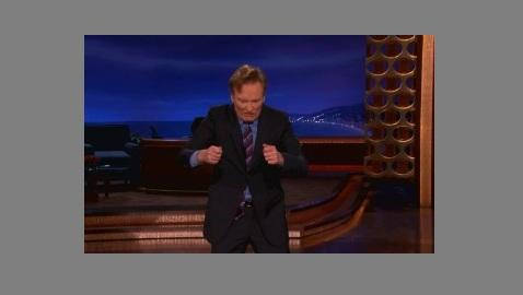 Conan Furiously Mocks Elisabeth Hasselbeck for Questioning Obama
