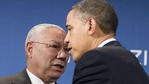 Former Secretary of State Colin Powell Offers Obama Endorsement