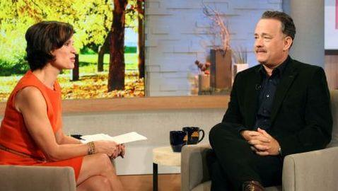 Tom Hanks Drops F-Bomb on GMA