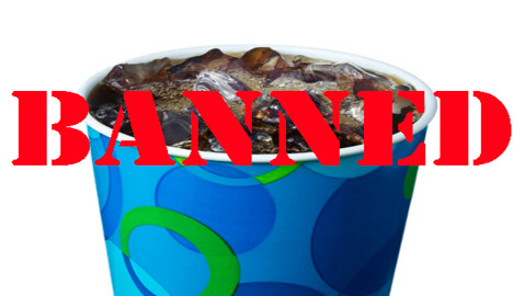 NY's Large Soda Ban Invalidated One Day before Implementation