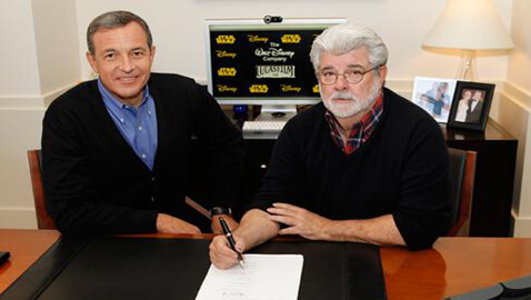 Disney Buys Lucasfilm for $4.05 Billion