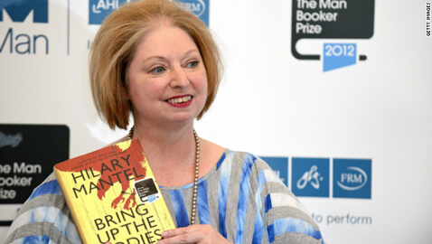 Hillary Mantel Becomes First Woman to Win a Second Booker Prize