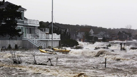 Hurricane Sandy Closes Down Courts