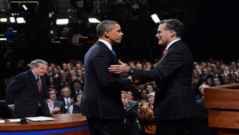 Obama's Lead Narrows Following Debate