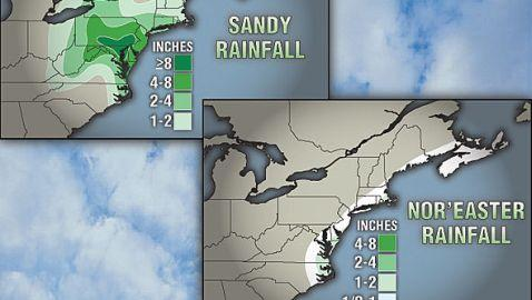 Nor'Easter to Cause Problems Along Battered Coasts of New Jersey and New York