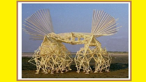 Theo Jansen Invents Kinetic Sculptures to Live on Beaches