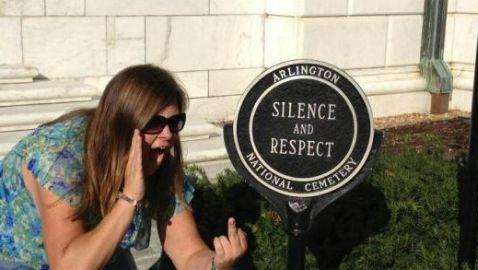 Facebook Group Calls for Resignation of Woman in Photo at Arlington National Cemetery