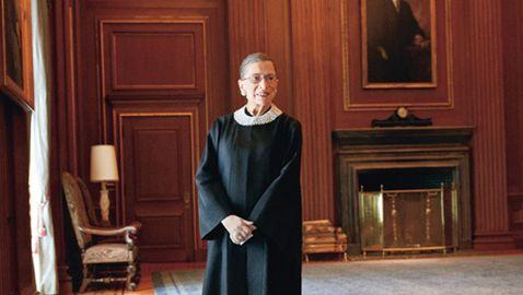 Supreme Court Justice Ruth Bader Ginsburg Honored by Fellow Justice Elena Kagan