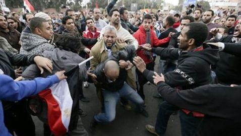 Opponents Fight in Egypt Over Constitution