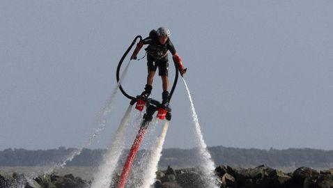Video of Flyboarding Family Is a Must-Watch