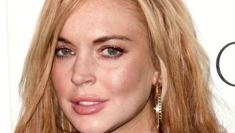 Lindsay Lohan Meets Max George's Family