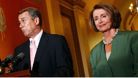 Pelosi Originally Backed Boehner's Tax Cut Plan to Dodge Fiscal Cliff, but Now is Critical