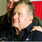 Former President George H.W. Bush Put into ICU for Persistent Fever