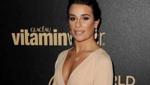 Lea Michele Credits Her Chest for Success