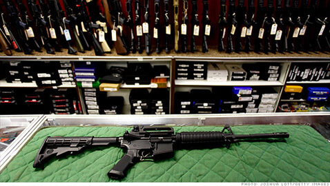 Guns Sales Go Through The Roof As Buyers Fear Stringent Legislation