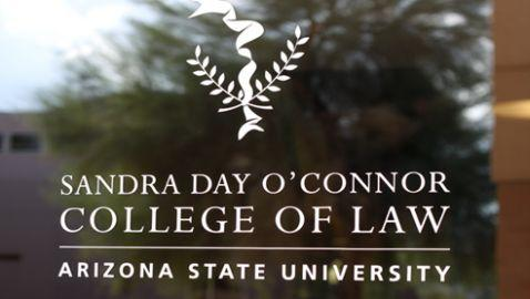 Sandra Day O'Connor Attends Groundbreaking for Namesake Law School