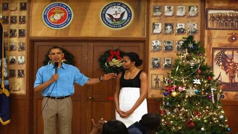 Fiscal Cliff Pressures Make Obama Cut-Short Traditional Christmas Holiday To Recommence Talks