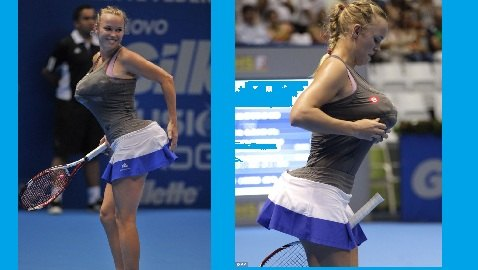 Tennis Champ Caroline Wozniacki Accused of Racism