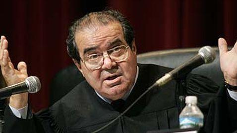 Justice Scalia Defends His Legal Writing While Speaking at Princeton