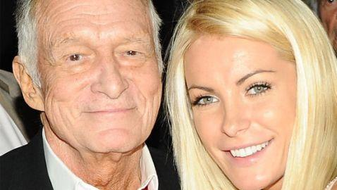 Hugh Hefner and Crystal Harris Finally Wed